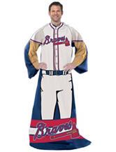 Atlanta Braves Adult Fleece Comfy Throw
