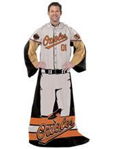 Baltimore Orioles Adult Fleece Comfy Throw