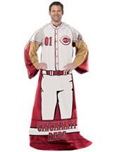 Cincinnati Reds Adult Fleece Comfy Throw