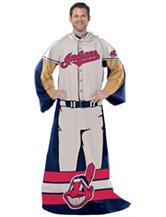 Cleveland Indians Adult Fleece Comfy Throw