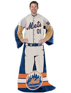 New York Mets Adult Fleece Comfy Throw