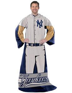 New York Yankees Adult Fleece Comfy Throw