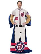 Washington Nationals Adult Fleece Comfy Throw