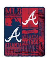 Atlanta Braves Fleece Throw
