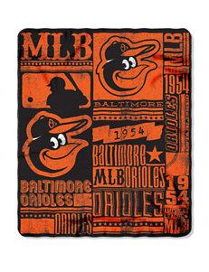 Baltimore Orioles Fleece Throw