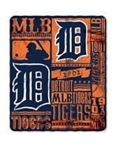 Detroit Tigers Fleece Throw