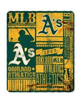 Oakland Athletics Fleece Throw
