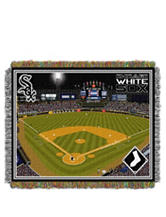 Chicago White Sox Home Field Advantage Woven Tapestry Throw