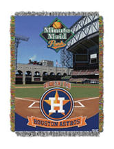 Houston Astros Home Field Advantage Woven Tapestry Throw
