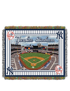 New York Yankees Home Field Advantage Woven Tapestry Throw
