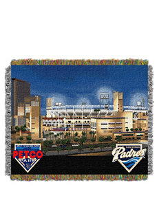 San Diego Padres Home Field Advantage Woven Tapestry Throw