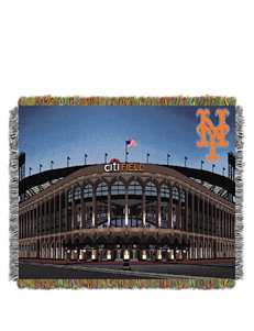 New York Mets Home Field Advantage Woven Tapestry Throw