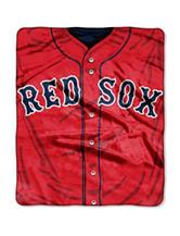 Boston Red Sox Super Plush Raschel Throw