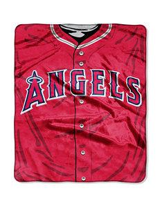Los Angeles Angels Super Plush Raschel Throw