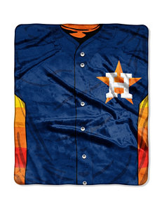 Houston Astros Super Plush Raschel Throw