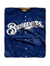 Milwaukee Brewers Super Plush Raschel Throw