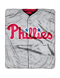 Philadelphia Phillies Super Plush Raschel Throw