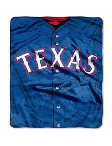 Texas Rangers Super Plush Raschel Throw