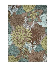 Nourison South Beach Floral Print Rug