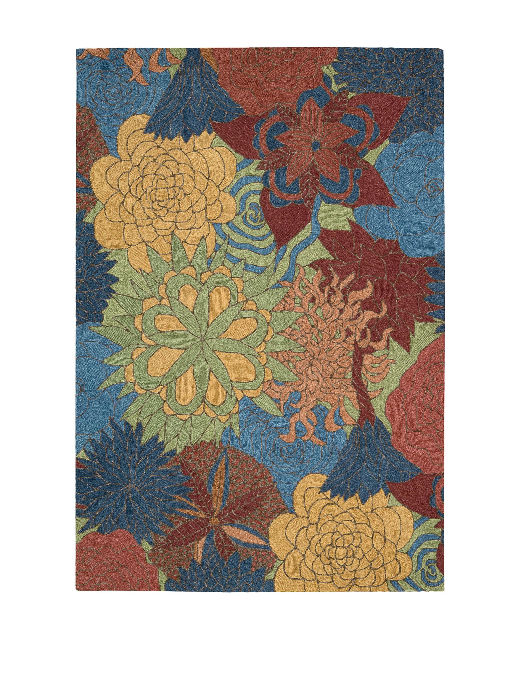 Nourison Deep Sea Outdoor Rugs & Doormats Outdoor Decor