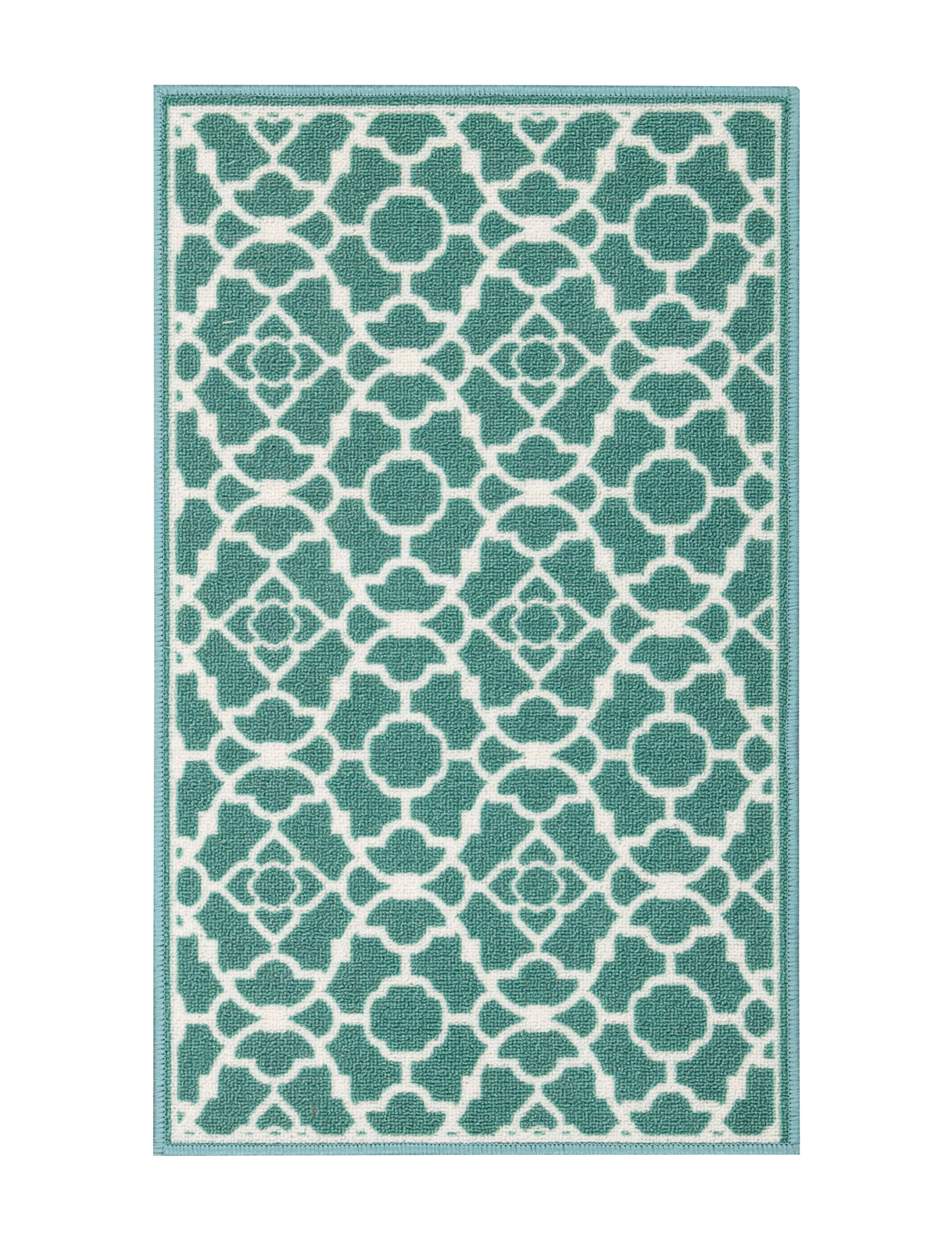 Waverly Teal Accent Rugs Area Rugs Runners Rugs
