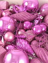 Christmas Central 125-pc. Bubblegum Pink Shatterproof Christmas Ornaments