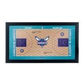 Charlotte Hornets Official Court Framed Plaque