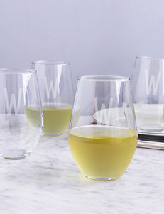 Cathy's Concepts Clear Drinkware