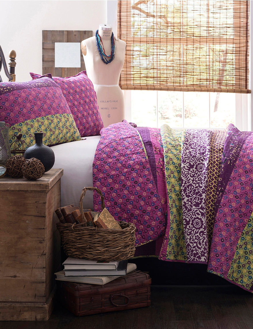 Lush Decor Plum Quilts & Quilt Sets
