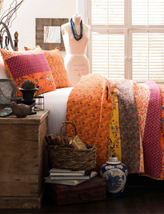 Lush Decor Tangerine Quilts & Quilt Sets