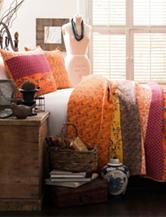 Lush Decor Royal Empire 3-pc. Tangerine Quilt Set