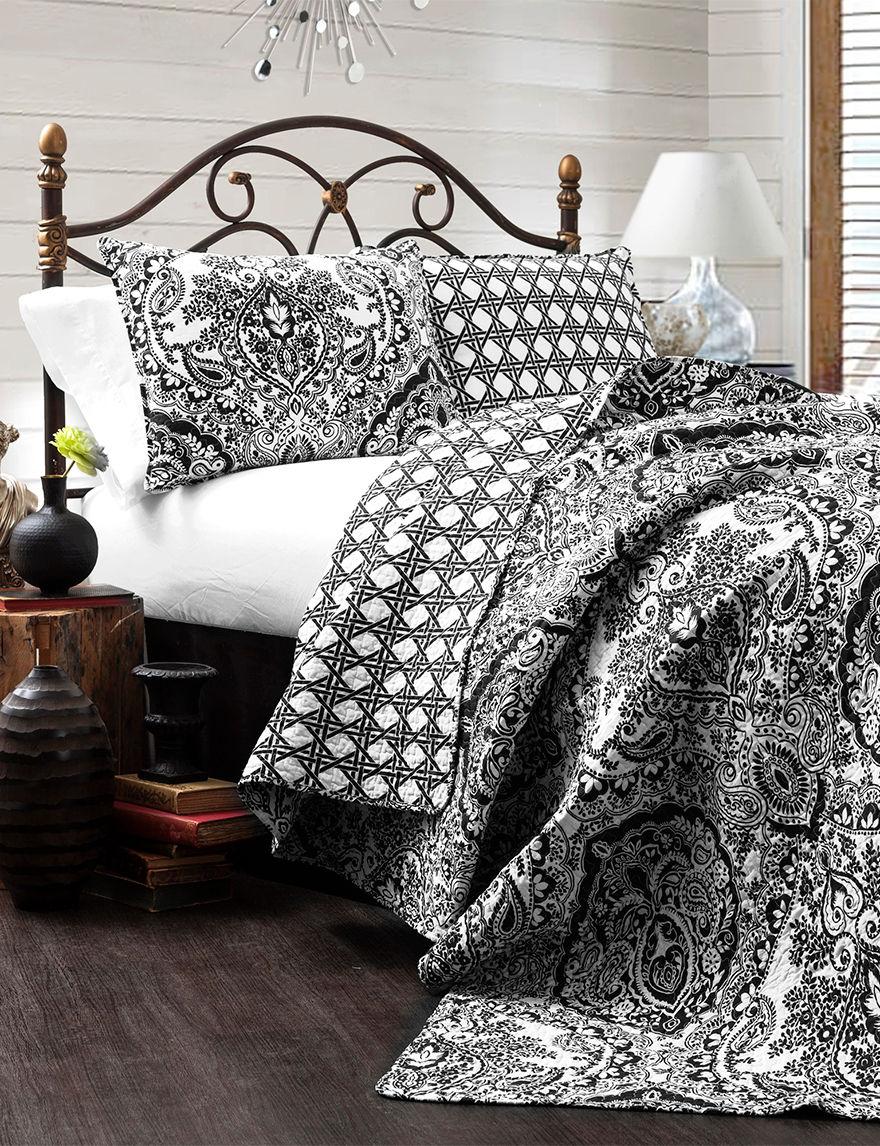 Lush Decor Charcoal Quilts & Quilt Sets