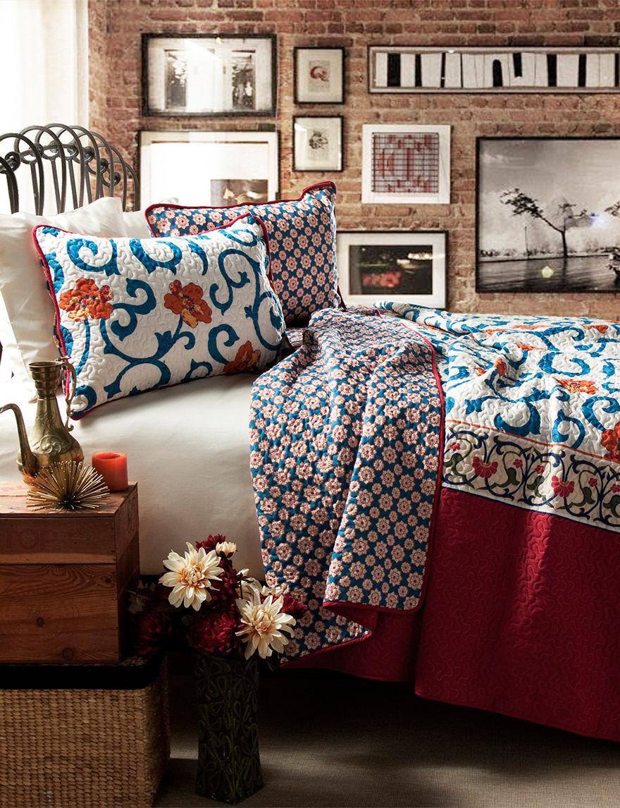 Lush Decor Blue/ Red Quilts & Quilt Sets