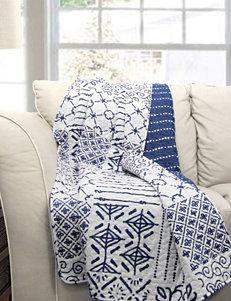 Lush Decor Blue Blankets & Throws