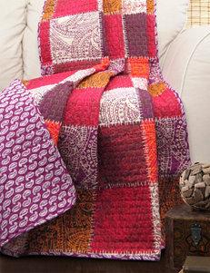 Lush Decor Fuchsia Blankets & Throws