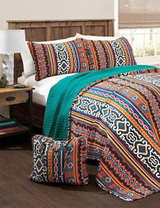 Lush Decor Navy/ Turquoise Quilts & Quilt Sets