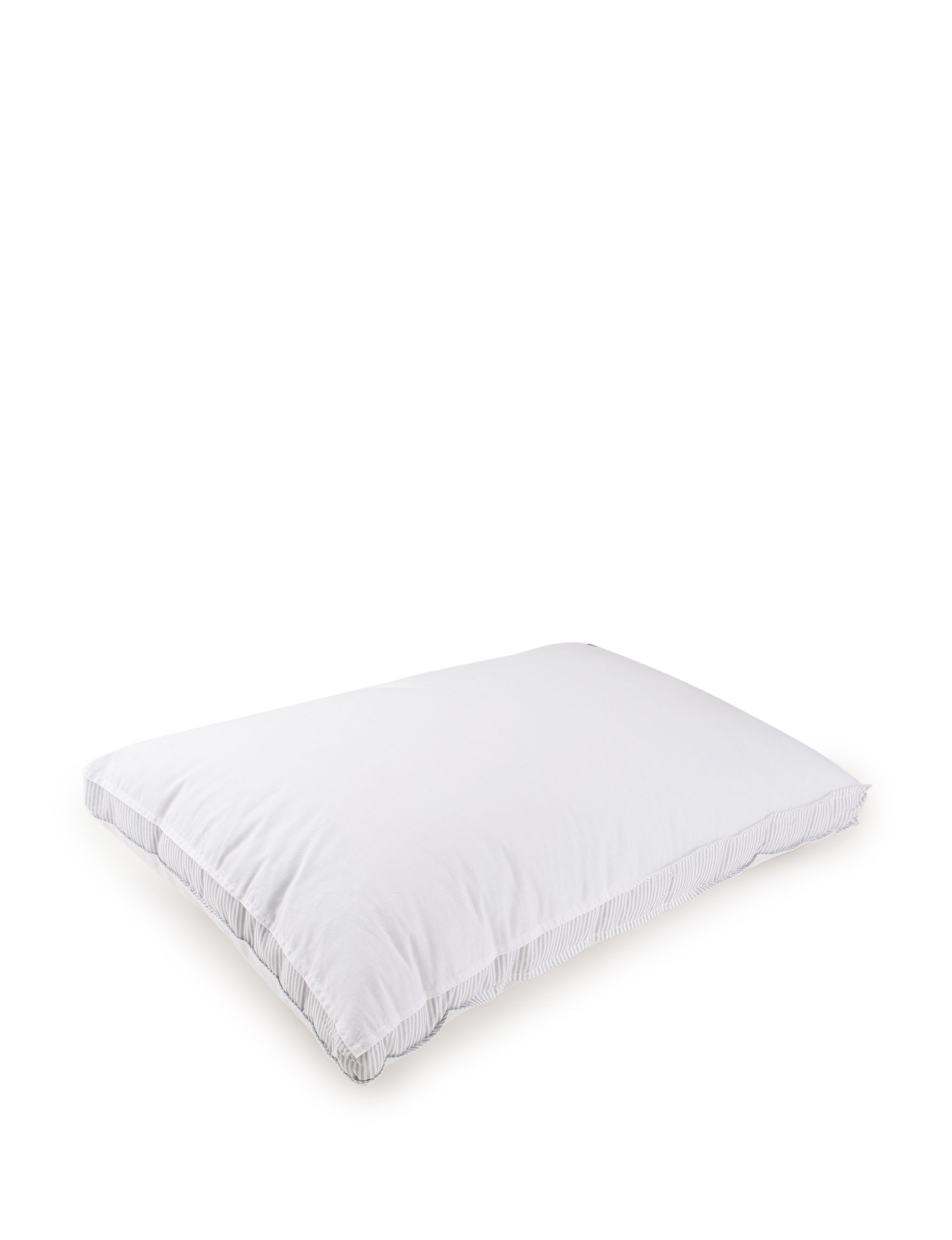 Tommy Hilfiger White/Grey Bed Pillows