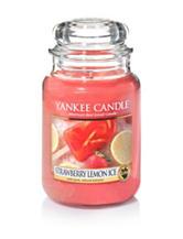 Yankee Candle® Strawberry Lemon Ice Large Jar