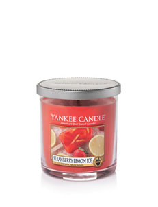 Yankee Candle Strawberry Pink Candles & Candle Holders
