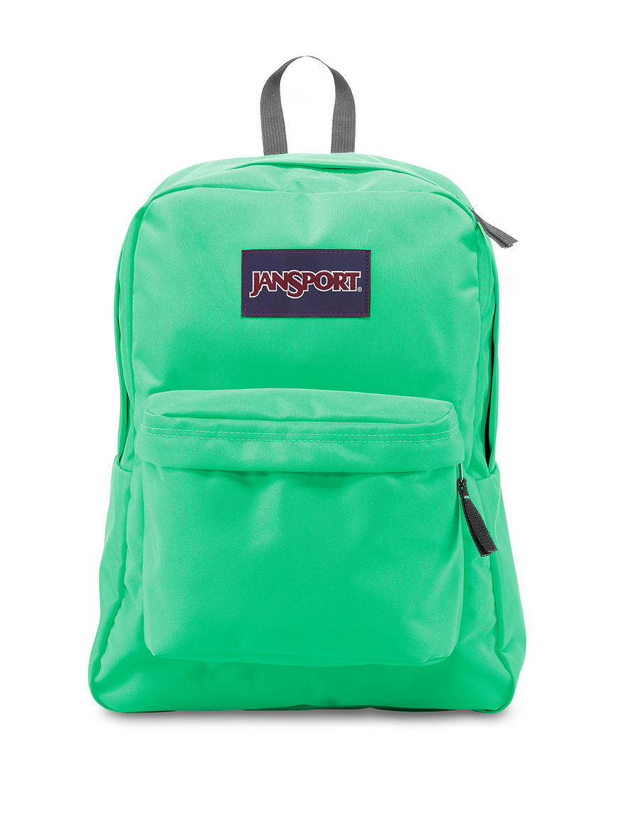 Jansport Sea Foam Bookbags & Backpacks