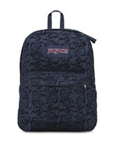 JanSport Superbreak Vine Flock Backpack