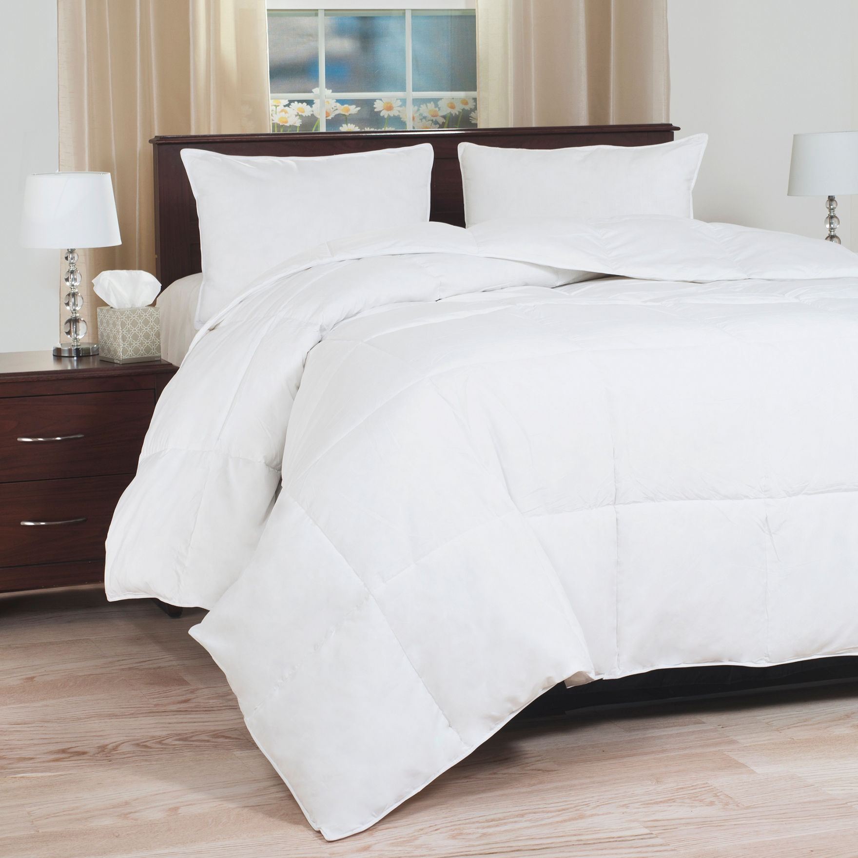 Lavish Home White Down & Down Alternative Comforters