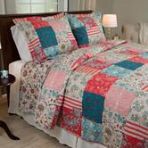 Lavish Home Mallory Quilt Set