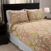 Lavish Home Ava Cotton Quilt Set