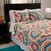 Lavish Home Danette Reversible Quilt Set