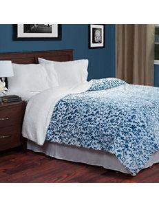 Lavish Home Blue Blankets & Throws