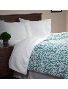 Lavish Home Green Blankets & Throws