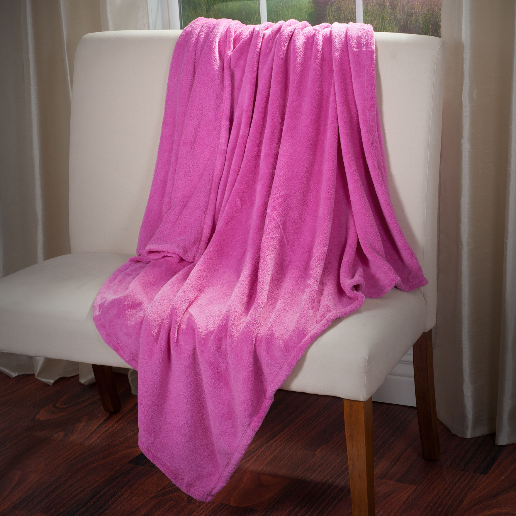 Lavish Home Pink Blankets & Throws