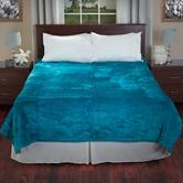 Lavish Home Solid Color Soft Heavy Thick Plush Mink Blanket