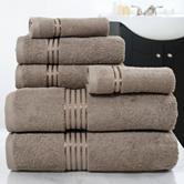Lavish Home 6-pc. 100% Egyptian Cotton Towel Set